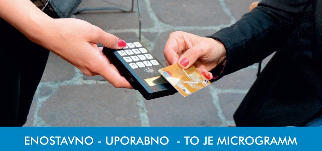 Mobilni plačilni sistem PAYWISER